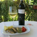 A PERFECT MATCH – BLUE FISH AND WHITE WINE